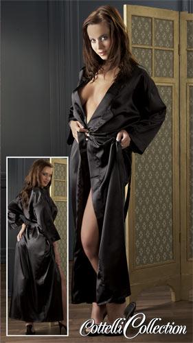 Kimono Bailey in schwarz von Cottelli