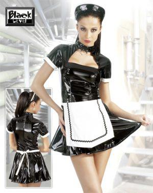 Lack-Minikleid Servier Bessy von Black Level